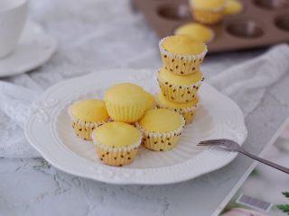 酸奶小蛋糕,成品图