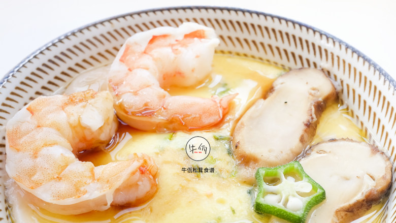 视频|日式松茸蒸鸡蛋|牛佤松茸食谱