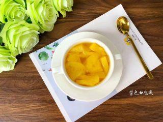 菠萝糖水,成品图四