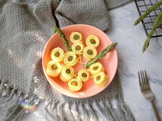 蛋卷芦笋——春季健康瘦身餐
