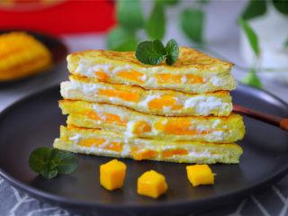 芒果酸奶吐司