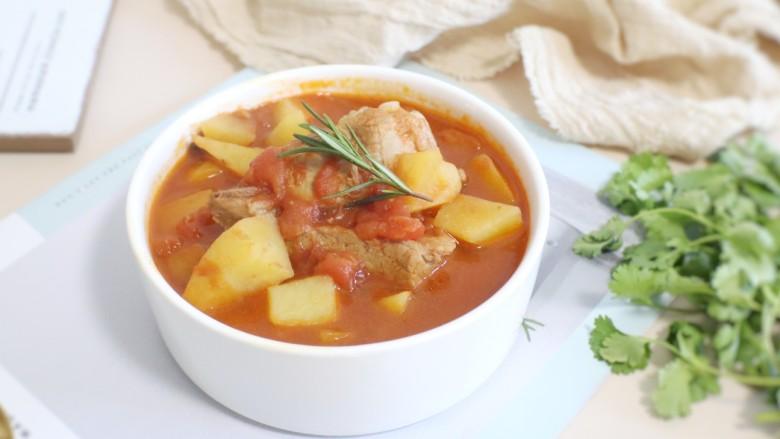番茄小排土豆汤