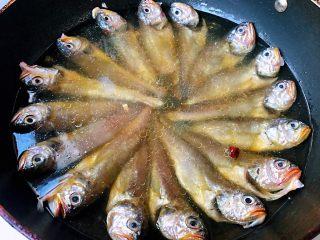 家焖黄花鱼,添加适量清水大火炖起来