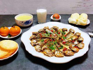 家焖黄花鱼,每天的早餐是开启幸福一天的动力