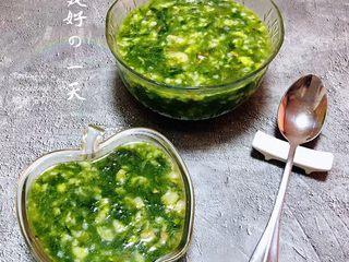 下锅烂疙瘩汤,鲜美可口的下锅烂疙瘩汤装入容器中