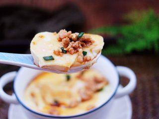 鹅蛋肉末羹,吃上一口营养丰富又鲜香嫩滑哟。