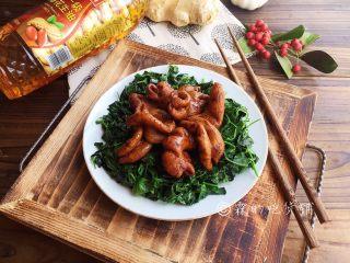 上海本帮菜 草头圈子,完成。