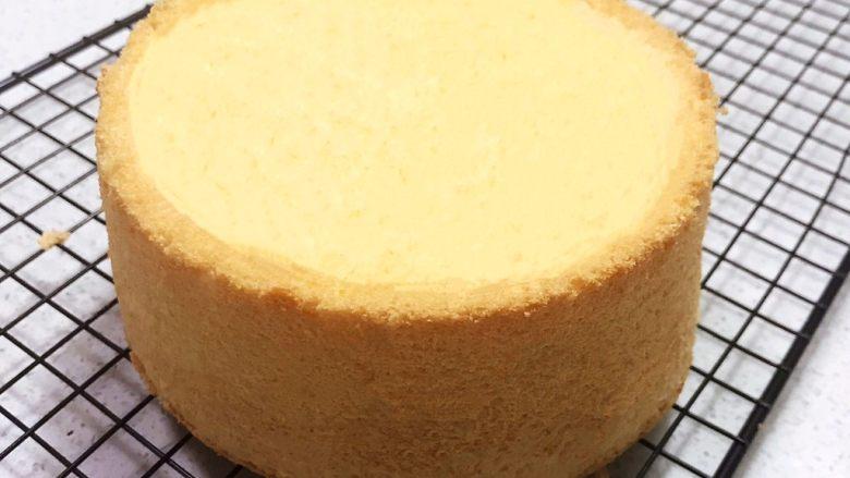 不加一滴水的原味蛋糕