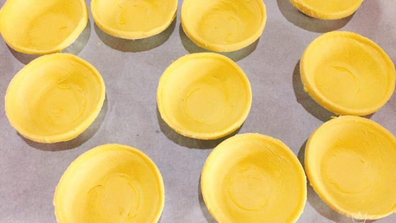 快手菠萝派+春天的味道,蛋挞皮室温软化