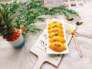 快手菠萝派+春天的味道,成品图