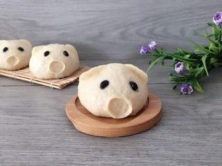 萌萌哒小猪造型肉包
