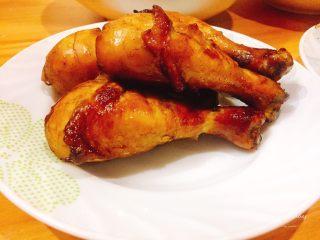 蜜汁香烤鸡腿,成品图