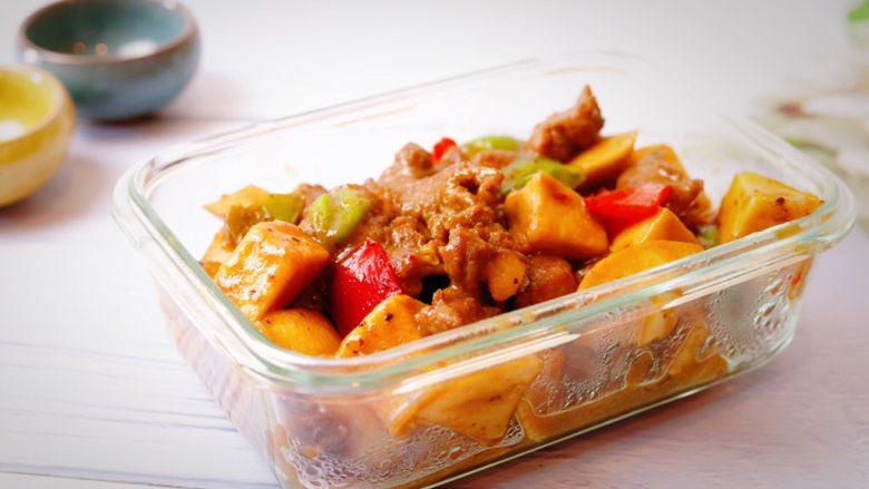 杏鲍菇牛肉粒