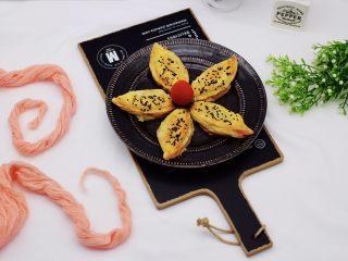 草莓芝士酥~蛋挞皮版,成品一
