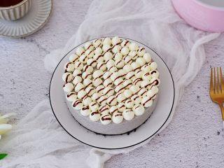 黑芝麻慕斯蛋糕