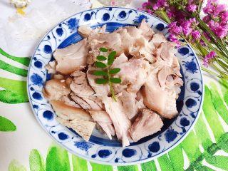 白切肘子+青菜肉汤