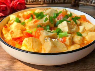 番茄烧豆腐,美味的番茄烧豆腐做好了,营养美味,还可以减脂,喜欢的宝宝赶紧收藏了。