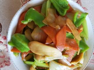 混炒素菜,美味出锅👍