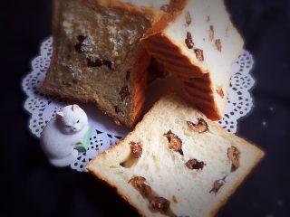 红枣吐司面包,完全冷却后切片。