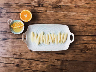 减肥时期也能吃的甜食---橙香山药