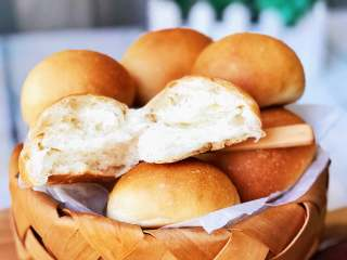 奶香小面包,成品2