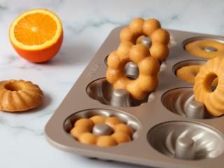 橙香甜甜圈(植物油版),成品非常完美,我和吃货宝宝都很满意