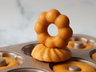 橙香甜甜圈(植物油版),成品图