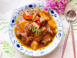 咖喱牛腩(高压锅版)