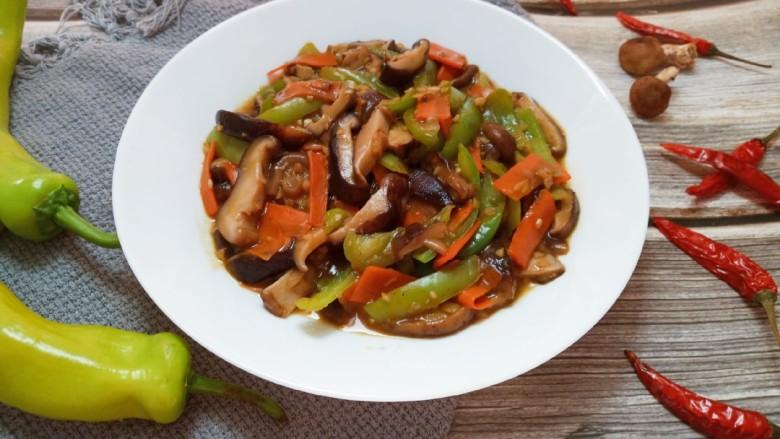 蚝油香菇,成品