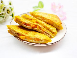 好吃到爆的酸奶芒果土司,超赞!