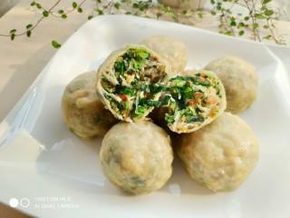 糙米薄皮菜团子