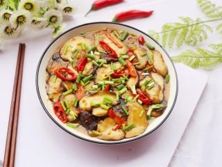 拿肉都不换的素炒香菇,超美味。