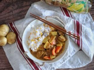 咖喱双蔬鸡