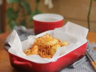 椰丝烤虾仁,简单美味。