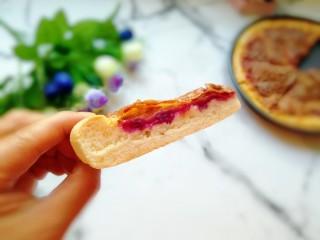 紫薯披萨,就喜欢这一抹紫。