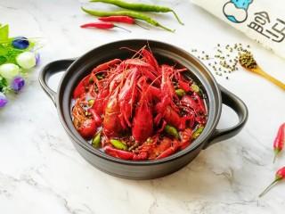 青花椒辣卤小龙虾,明天再去买两斤。