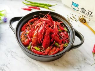 青花椒辣卤小龙虾,美食诱惑。