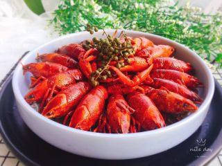 辣卤小龙虾,成品图