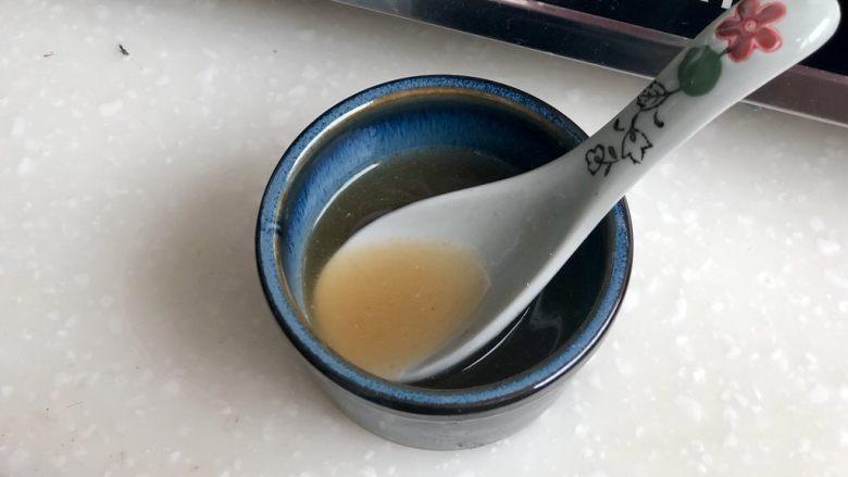 白雪却嫌春色晚➕虫草花清炒山药,搅拌均匀,尝下咸淡酸度,根据自己的口味来加水或盐糖调整