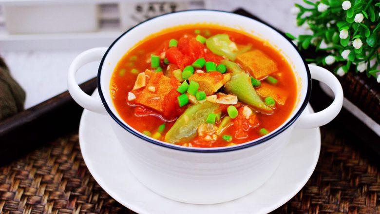 番茄香干烩丝瓜,营养丰富又健康好吃的番茄香干烩丝瓜就可以了。