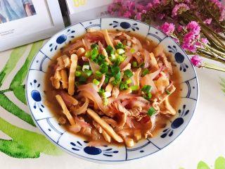 蚝油洋葱香干炒肉丝