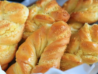 椰蓉面包,好吃啊。