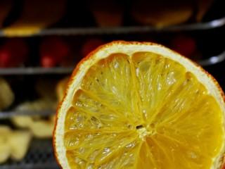 自制零添加水果干,烘了3小时的橙子好漂亮啦!