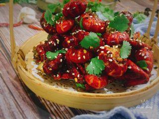 椒盐小龙虾(非油炸版),成品图