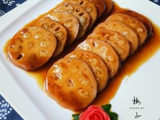 红糖糯米藕
