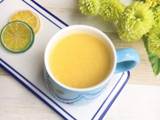 鲜榨玉米汁,完成