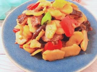 木耳荸荠炒肉片,成品图3
