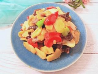 木耳荸荠炒肉片,成品图2