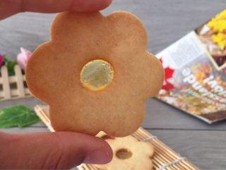 花型玻璃心饼干