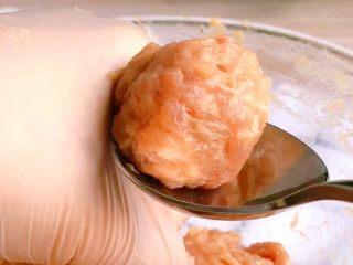 猪肉丸子汤,充分搅打上劲的肉馅做出的丸子更好吃😋
